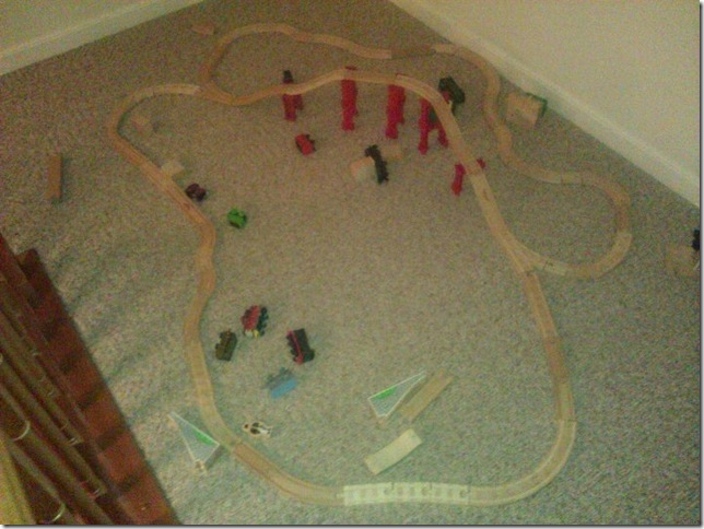 It'd be bigger if he had more track
